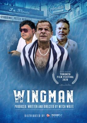 "In Anticipation Of TIFF ""WingMan"" Takes Flight (CNW Group/Mitch Wolfe)"