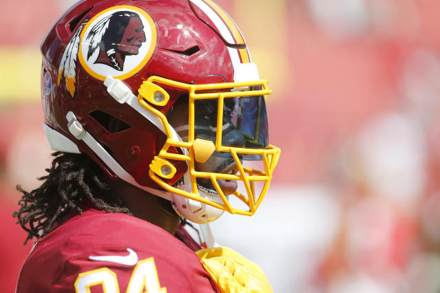 Washington cornerback Josh Norman slammed Redskins fans after their 16-3 road win against the Tampa Bay Buccaneers on Sunday. (Cliff Welch/Getty Images)