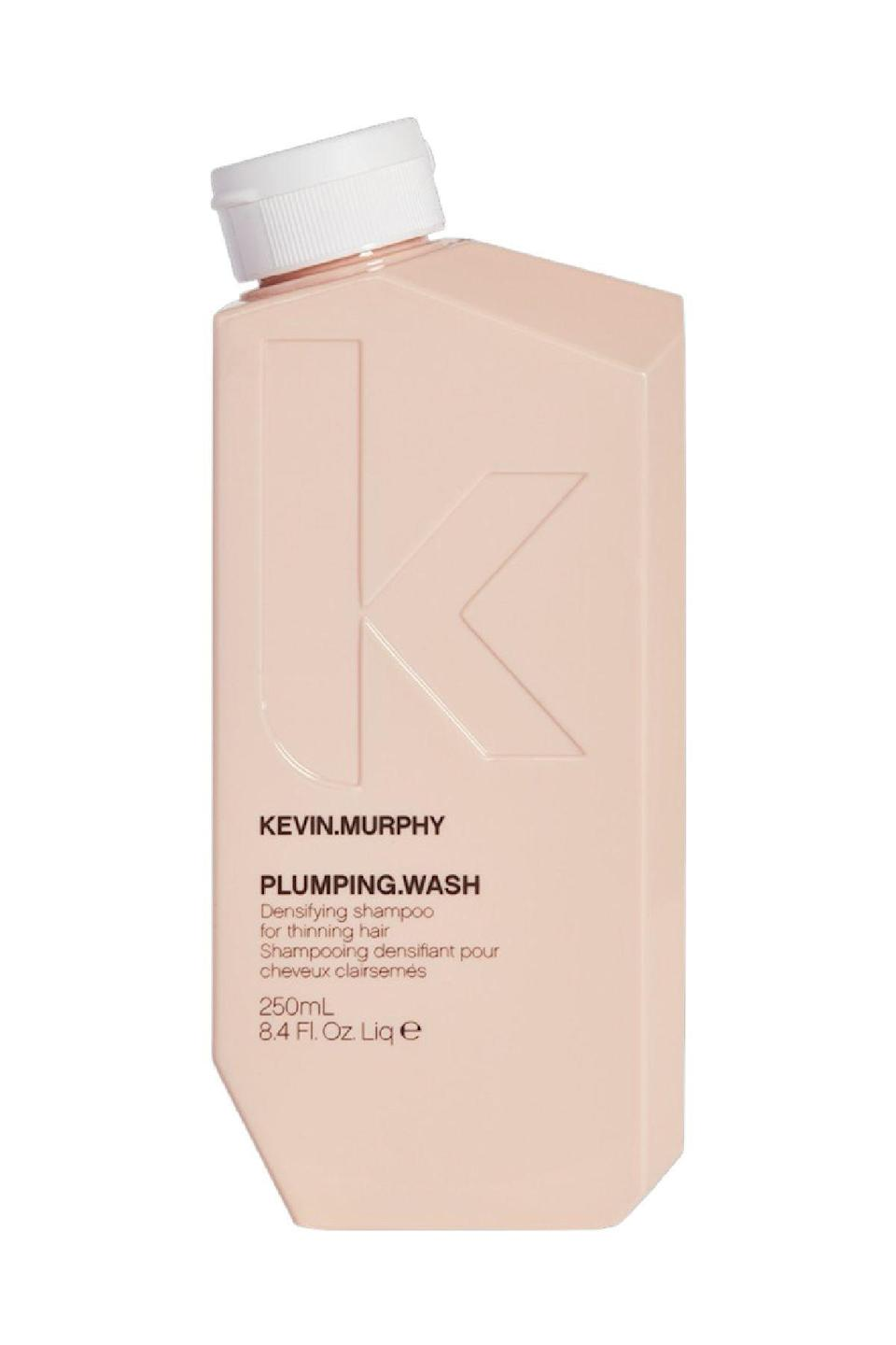 "<p><strong>Kevin Murphy</strong></p><p>amazon.com</p><p><strong>$37.99</strong></p><p><a href=""https://www.amazon.com/dp/B00KQXIJB8?tag=syn-yahoo-20&ascsubtag=%5Bartid%7C10058.g.25647514%5Bsrc%7Cyahoo-us"" rel=""nofollow noopener"" target=""_blank"" data-ylk=""slk:Shop Now"" class=""link rapid-noclick-resp"">Shop Now</a></p><p>If you're in the market for a hair growth shampoo, chances are you wouldn't mind fuller looking hair while you wait for new follicles to sprout. Here, rice bran and amino acids work immediately to expand the diameter of the hair shaft while <strong>ginger root and nettle extract invigorate the scalp to maximize new growth. </strong></p>"