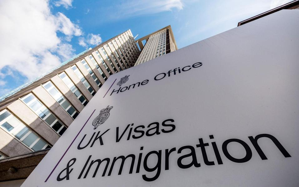 The Home Office UK Visas & Immigration Office - Guy Corbishley / Alamy Stock Photo