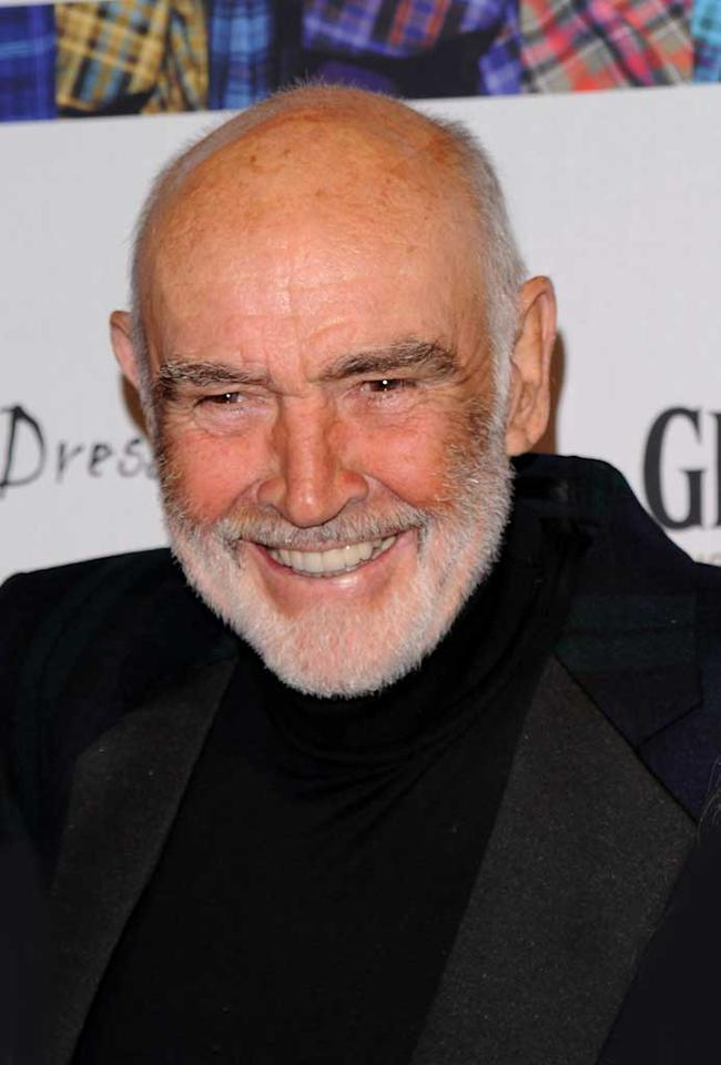 """August 25: Sean Connery turns 80  Andrew H. Walker/<a href=""""http://www.gettyimages.com/"""" target=""""new"""">GettyImages.com</a> - April 5, 2010"""