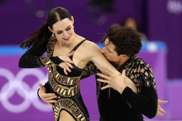 "<p><strong>Country:</strong> Canada<br /><strong>Net Worth: </strong>estimated $2 million (each)<br />It's rumoured that Canada's golden ice dance duo make around $2 million each. The two have been skating together for decades and are the 2010 Olympic champions, the 2014 silver medalists, and three-time World champs. They also did a<a rel=""nofollow"" href=""http://www.imdb.com/title/tt3460038/""> reality show stint</a>, but the terms around the deal weren't released.<br />Virtue and Moir are now the most decorated Olympic figure skaters with five Olympic medals including their most recent gold medal in ice dance at the Pyeongchang Olympics. (Getty) </p>"