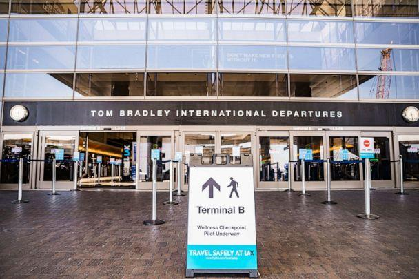 PHOTO: New traveler screening technology will be at select locations inside the Tom Bradley International Terminal at LAX. (Los Angeles World Airports)
