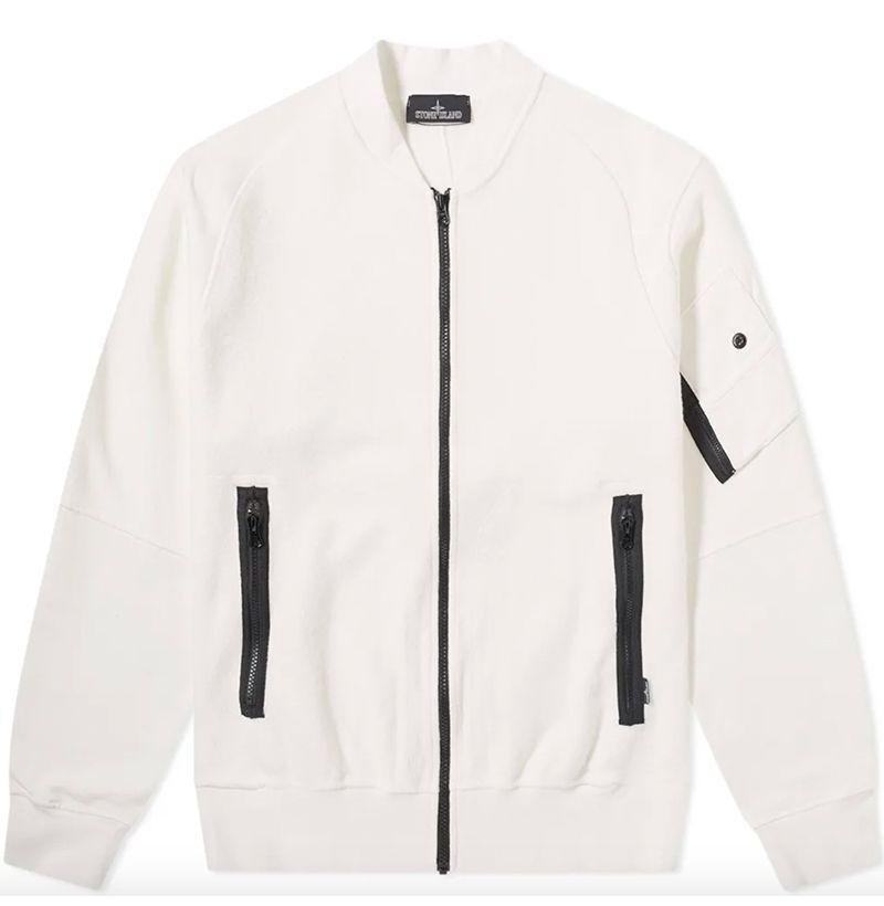 """<p><strong>Stone Island Shadow Project</strong></p><p>endclothing.com</p><p><strong>$355.00</strong></p><p><a href=""""https://go.redirectingat.com?id=74968X1596630&url=https%3A%2F%2Fwww.endclothing.com%2Fus%2Fstone-island-shadow-project-gauzed-heavy-fleece-bomber-7119-60406-v0099.html&sref=https%3A%2F%2Fwww.esquire.com%2Fstyle%2Fnews%2Fg2932%2F10-best-bomber-jackets-for-fall%2F"""" rel=""""nofollow noopener"""" target=""""_blank"""" data-ylk=""""slk:Buy"""" class=""""link rapid-noclick-resp"""">Buy</a></p><p>Stone Island Shadow Project makes its fleece bomber jackets out of ultra-soft, part-flipped jersey and then garment dyes 'em to the label's famously particular specifications. </p>"""