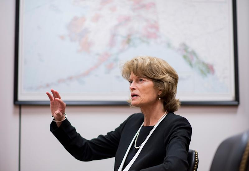 Sen. Lisa Murkowski's bill would open up an area of the Arctic wilderness to oil drilling in hopes of bringing in about $1 billion in federal revenue.