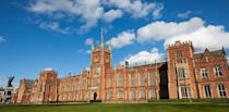 """<p>This university looks more like a palace fit for Irish <a href=""""http://www.goodhousekeeping.com/life/g4253/american-princesses/"""" rel=""""nofollow noopener"""" target=""""_blank"""" data-ylk=""""slk:royalty"""" class=""""link rapid-noclick-resp"""">royalty</a> than a school for young 20-somethings. The Lanyon Building is noted as one of the most recognizable landmarks at Queen's University; however, the campus houses more than 250 buildings that resemble this gorgeous Gothic and Medieval style. </p>"""