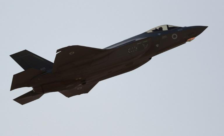 An Israeli F-35 fighter jet -- of the sort that the United States is looking to sell the United Arab Emirates -- takes off during exercises in November 2019 near the city of Eilat