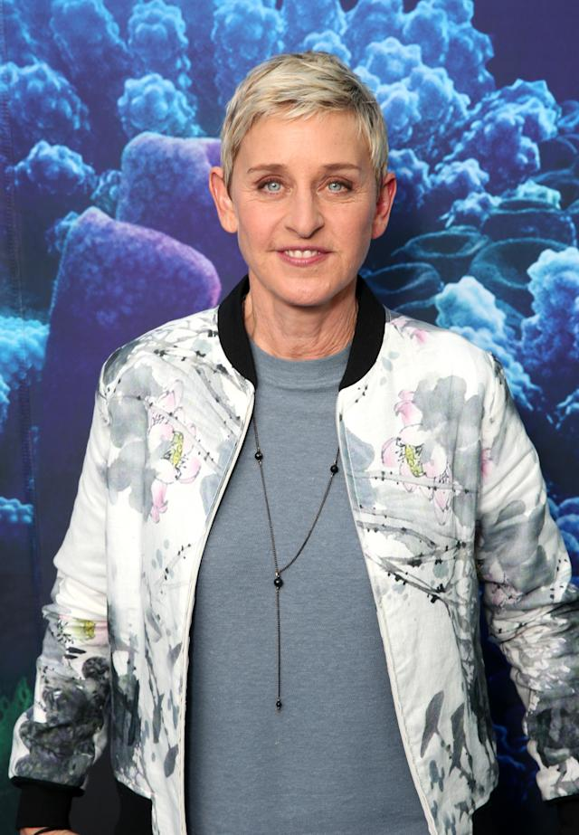Ellen DeGeneres opens up about about losing one of her first loves. (Photo: Getty Images)