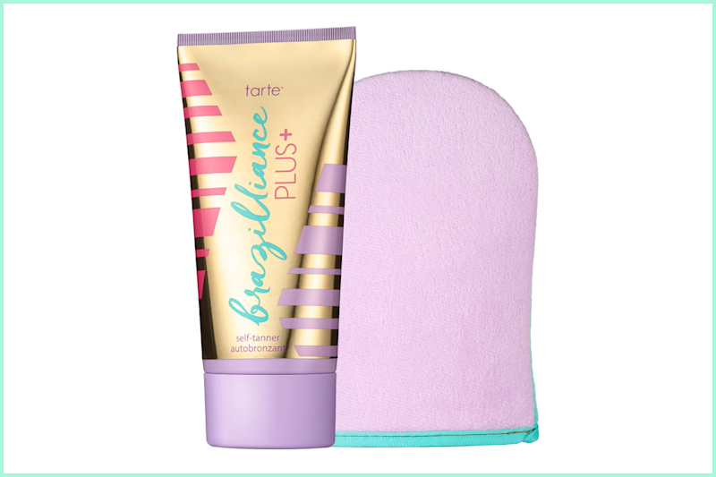Tarte Brazilliance PLUS + Self-Tanner with Mitt. (Photo: Ulta)