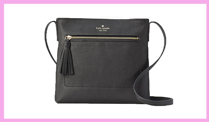Before you go anywhere — and everywhere — take a trip to Chester Street for this black stunner. (Photo: Kate Spade)