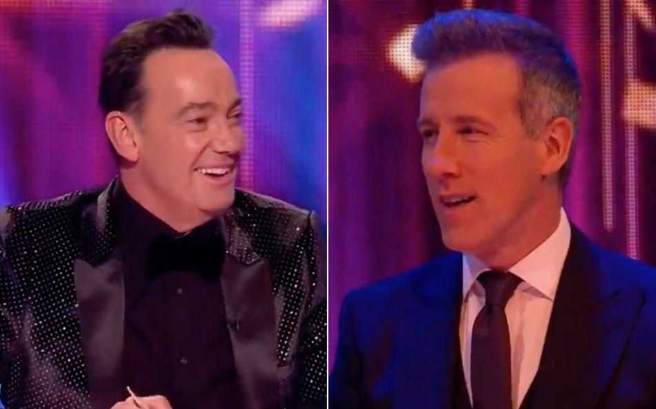 Craig Revel Horwood and Anton Du Beke (Photo: BBC)