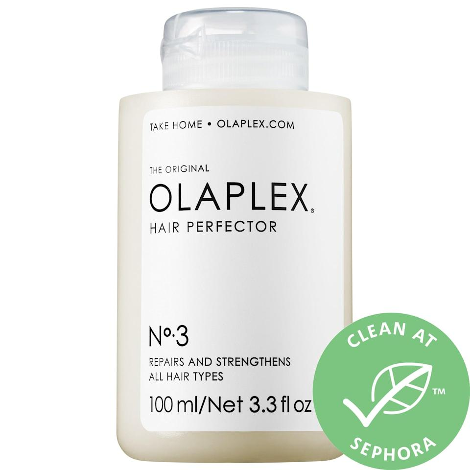 <p>No matter the month, this <span>Olaplex No. 3 Hair Perfector</span> ($28) is often grabbed by anyone dealing with damaged hair. After all, it helps repair broken bonds from styling damage (that can lead to frizz and breakage), and strong, healthy hair is cute 365 days a year.</p>