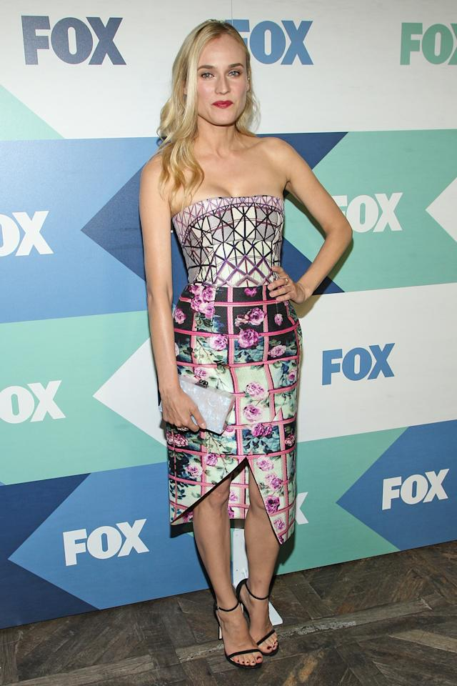 WEST HOLLYWOOD, CA - AUGUST 01: Actress Diane Kruger attends the Fox All-Star Party on August 1, 2013 in West Hollywood, California. (Photo by Paul A. Hebert/Getty Images)