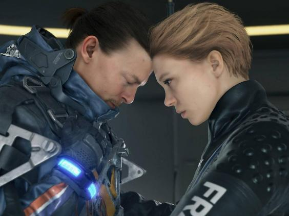 Norman Reedus and Léa Seydoux in Hideo Kojima's sci-fi epic Death Stranding (Sony Interactive Entertainment)