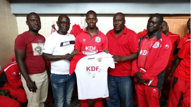 Ulinzi Stars have awarded their two players for performing well in February and March
