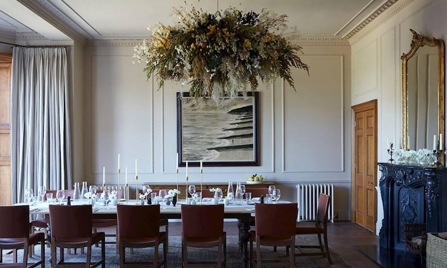 A dining room fit for royals [Photo: Heckfield Place]
