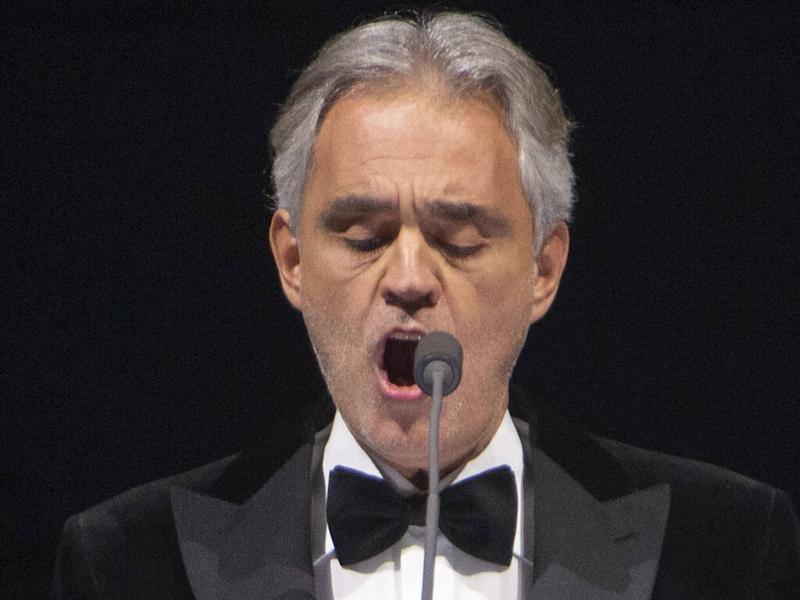 Andrea Bocelli slams Placido Domingo's 'absurd' treatment amid sexual harassment allegations