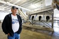 "Joseph ""Smokey"" Parrish, manager of 13 Mile Seafood in Apalachicola, Florida, U.S., talks about the change in the condition of the Apalachicola Bay"