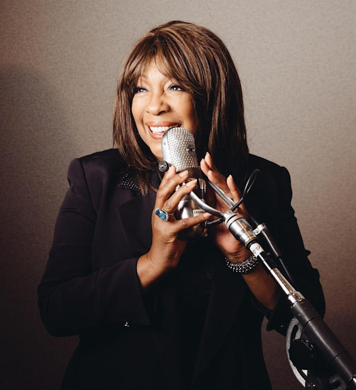 Mary Wilson, founding member of The Supremes, poses in a studio of the Capitol Records building, June 12, 2014, in the Hollywood area of Los Angeles. Mary Wilson, who co-founded the legendary Motown group The Supremes, died suddenly Feb. 8, 2021 at her home in Henderson, Nev., according to her longtime publicist Jay Schwartz. She was 76.
