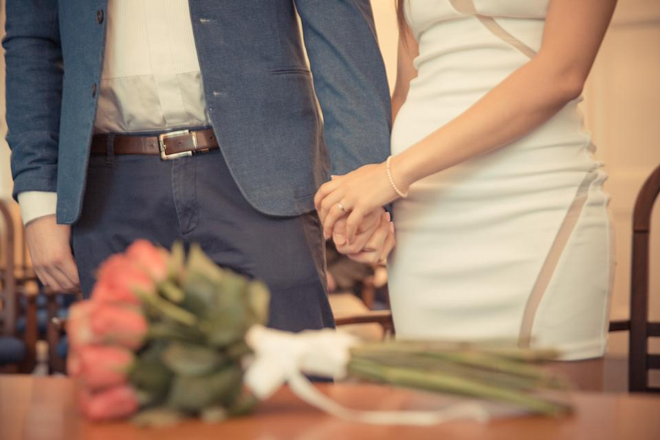 The woman revealed her sister and brother-in-law married at City Hall without telling anyone. Photo: Getty