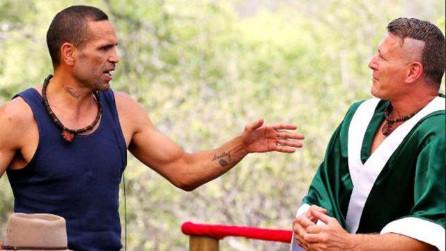 Mundine and Green went at it on the show. Image: Network Ten