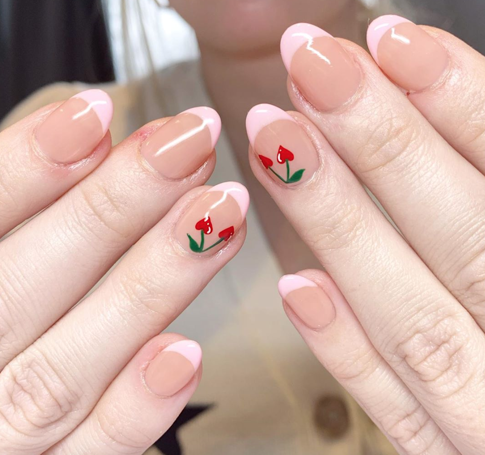 This mani is almost too cute to handle.