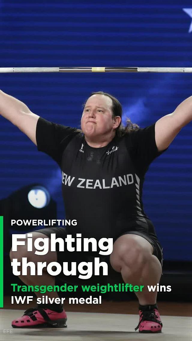 Even after being on the receiving end of abuse on social media, Laurel Hubbard, a transgender weightlifter from New Zealand, won silver at the IWF World Weightlifting Championships.