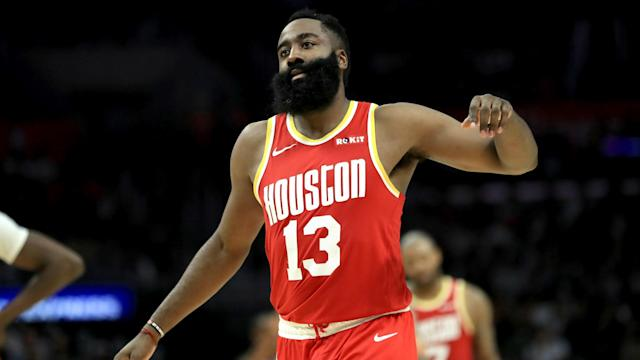 James Harden scored 50 points but it was a disallowed bucket for the Rockets star that dominated the headlines against the Spurs.
