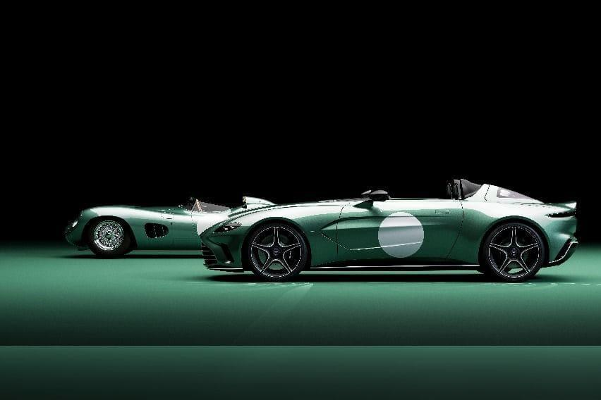Aston-Martin-DBR1-and-V12-Speedster-side-by-side