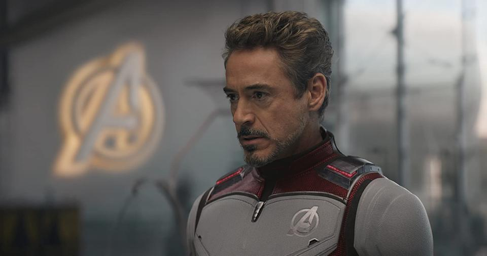 Robert Downey Jr contemplating what to do with his money (Image by Marvel)
