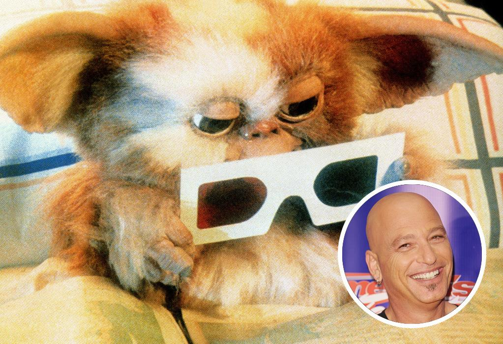 "<b>Gizmo </b><br><br>Yup, comedian/actor/game show host Howie Mandel -- now a judge on ""America's Got Talent"" -- was the voice behind cute little Gizmo in ""Gremlins"" (1984)."