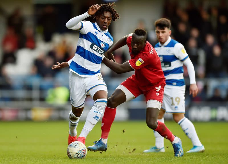 Palace sign attacker Eze from QPR