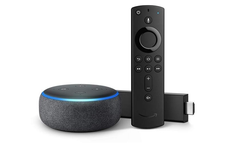 Four TV Stick 4K bundle with Echo Dot (3rd Gen). (Photo: Amazon)