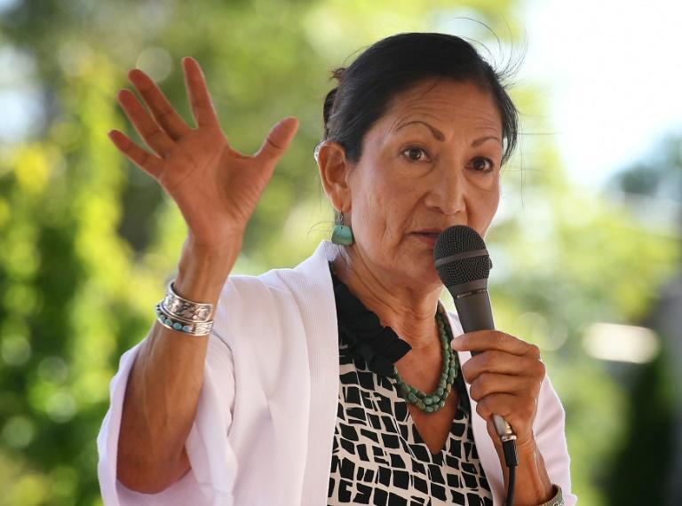 Congresswoman Deb Haaland is Joe Biden's pick to run the Department of the Interior -- she would be the first Native American in the role