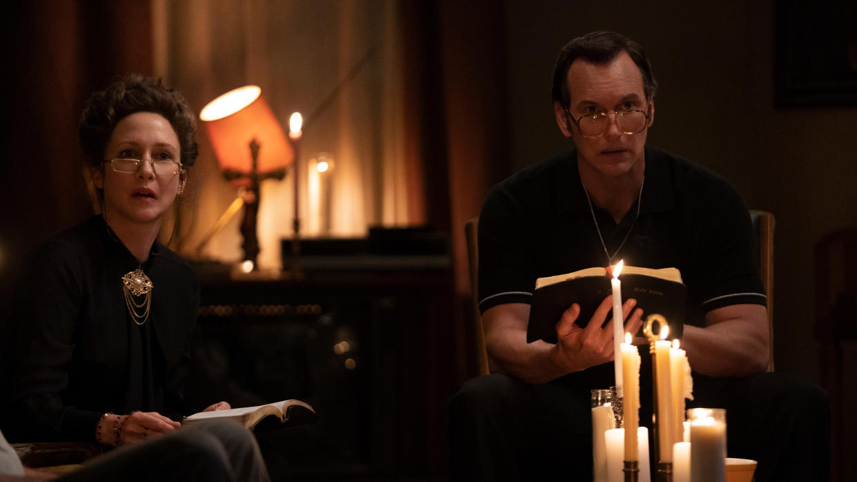 The case files of Lorraine and Ed Warren span decades of paranormal research, which the 'Conjuring' franchise could cover. (Ben Rothstein/Warner Bros)