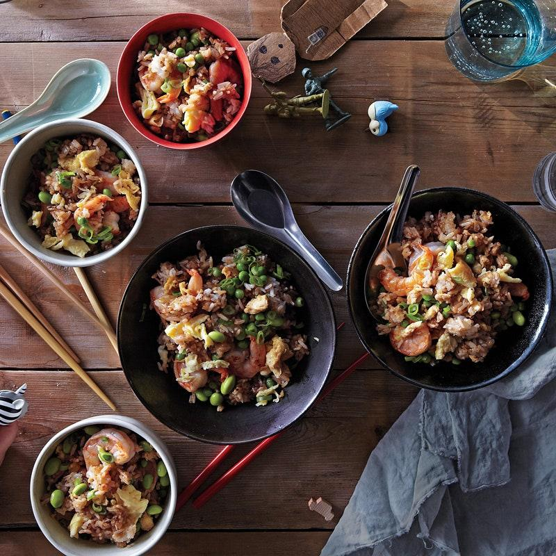 """The best way to use leftover rice? Cook it again and <a href=""""https://www.epicurious.com/expert-advice/how-to-make-crispy-fried-rice-article?mbid=synd_yahoo_rss"""">get it really crispy</a>. This seafood fried rice recipe uses quick-cooking shrimp for an easy weeknight dinner. <a href=""""https://www.epicurious.com/recipes/food/views/shrimp-fried-rice-51149040?mbid=synd_yahoo_rss"""">See recipe.</a>"""