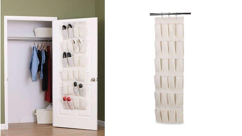 These organizers are also helpful for storing accessories, scissors, or anything else you want to keep close by, but still tucked away.