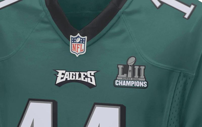 ba9761b287a Eagles to wear Super Bowl LII champions jersey patch in season opener
