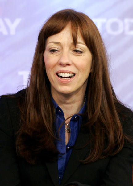 "** FILE ** In this Feb. 26, 2008 file photo, Mackenzie Phillips, of the 1970's sitcom ""One Day at a Time,"" appears on the the NBC ""Today"" television program in New York. A young star of the TV series, Phillips was arrested in 1977 for public drunkenness and cocaine possession. She was fired from the show and struggled with addiction for years. (AP Photo/Richard Drew, File)"