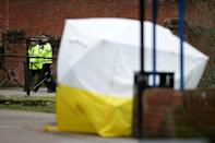 The attack on the Skripals was the first offensive use of chemical weapons in Europe since World War II (AFP/Daniel LEAL-OLIVAS)