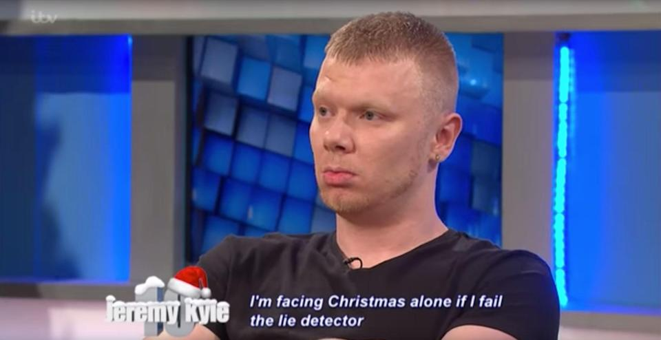 Dwayne Davison was dubbed 'The Jeremy Kyle Show's 'most hated guest ever' (Credit: Youtube)