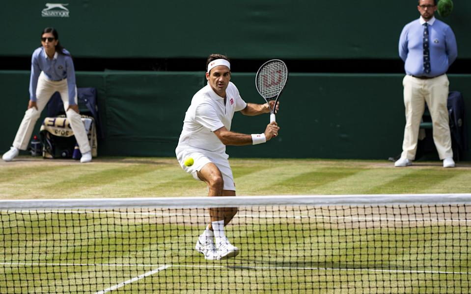 Federer is gearing up for another go at Wimbledon success - Getty Images
