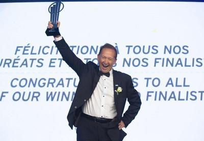 Germain Lamonde, founder and Executive Chairman of EXFO will be representing Canada at the upcoming EY World Entrepreneur Of The Year(TM) competition in Monaco, on June 8. (CNW Group/EXFO Inc.)