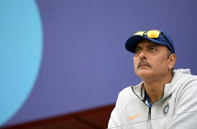 Publicly backed by Indian captain Virat Kohli, 57-year-old Shastri was always likely to keep his coaching job (AFP Photo/Dibyangshu Sarkar)