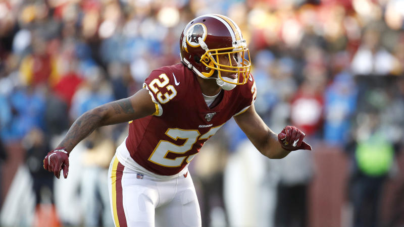 Quinton Dunbar pleaded not guilty to four counts of armed robbery. (AP Photo/Patrick Semansky)