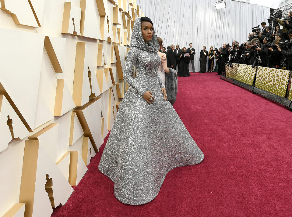 Janelle Monáe attends the 92nd Annual Academy Awards at Hollywood and Highland on February 09, 2020. (Photo by Kevork Djansezian/Getty Images)
