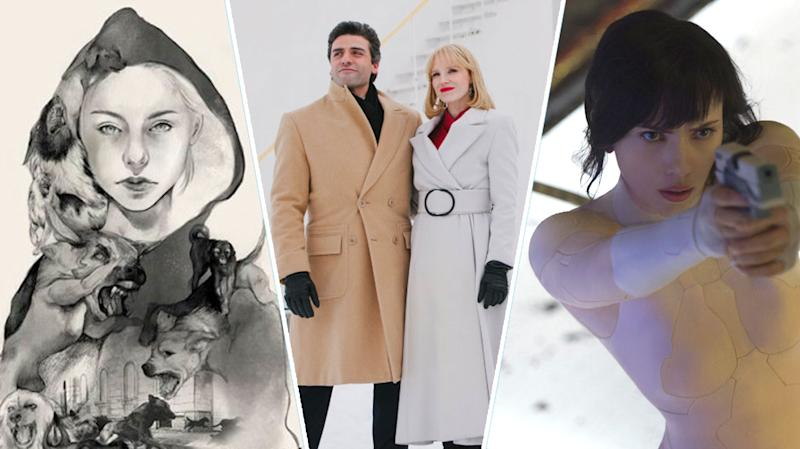 White God, A Most Violent Year, Ghost In The Shell.