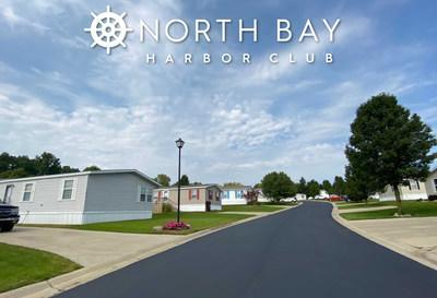 Since taking ownership of the North Bay Harbor Club community in 2018, Havenpark Communities has made a number of community improvements, including new community signage and newly paved roads.