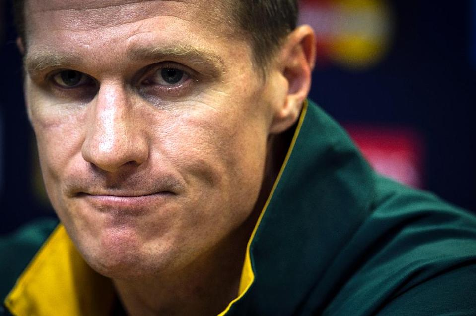 South Africa's centre and captain Jean de Villiers is out of the World Cup with a fractured jaw (AFP Photo/Lionel Bonaventure)