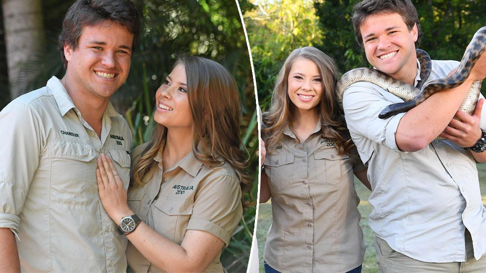 <p>Bindi Irwin marked her 20th birthday by spending it with all her loved ones, including boyfriend Chandler Powell. Aren't they adorable? </p>